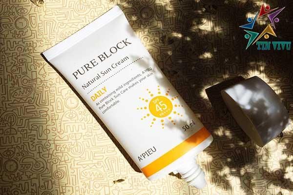 kcn-pure-block-natural-sun-cream-daily-spf45pa