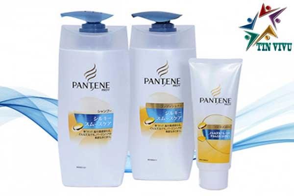 Bộ dầu gội Pantene Pro-V Nhật nắp xanh dương