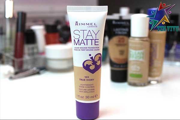 Kem Nền Rimmel Stay Matte Liquid Mousse Foundation
