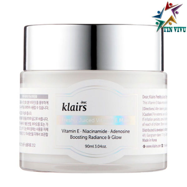 Mat-Na-Ngu-Va-Kem-Duong-Am-Dear-Klairs-Freshly-Juiced-Vitamin-E-Mask-15ml