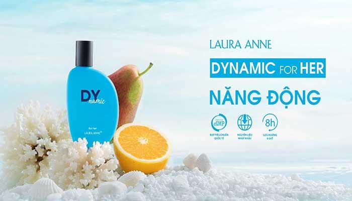 Nước Hoa Nữ Venus Global Beauty Laura Anné Perfume 50ml