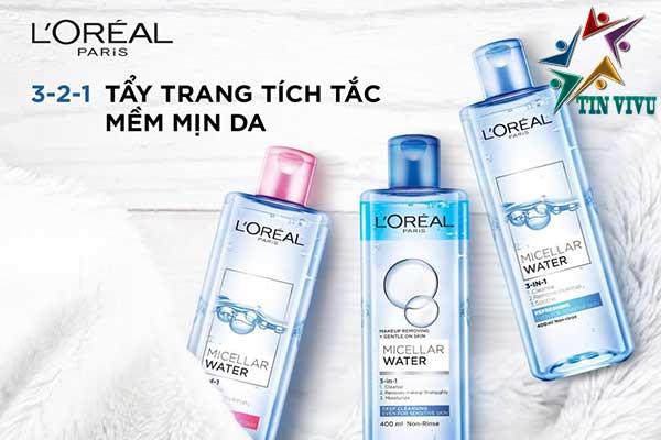 Nuoc-Tay-Trang-Cho-da-dau-da-kho-da-nhay-cam-LOreal-3-In-1-Micellar