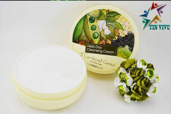 Sap-tay-trang-The-Face-Shop-Herb-Day-Cleansing-Cream-chinh-hang