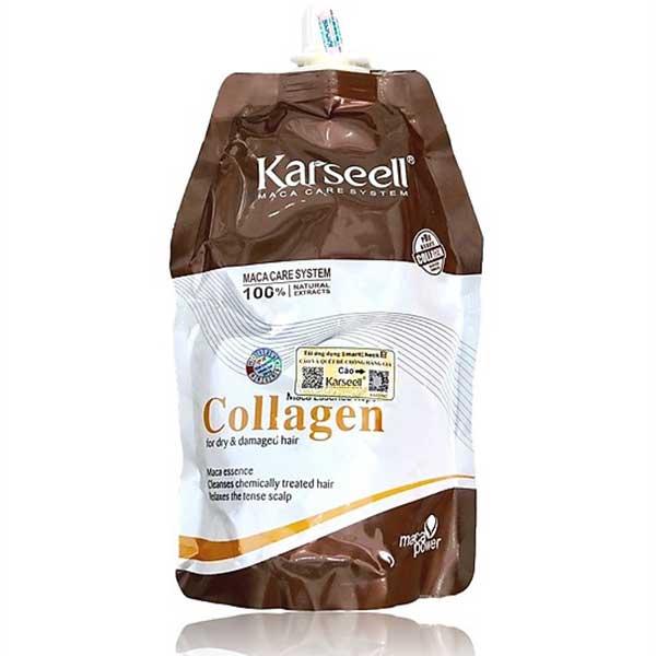 Dau-hap-u-toc-sieu-muot-Karseell-Maca-Essence-Repair-Collagen-dang-tui-500ml