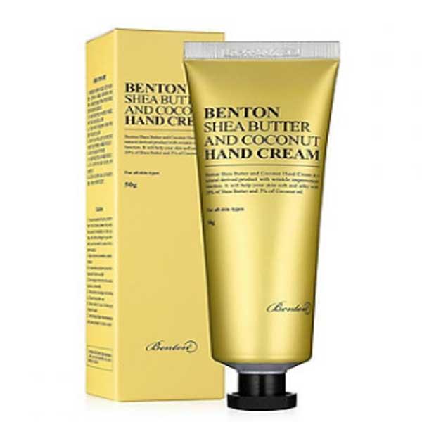 Kem-duong-da-tay-Benton-Shea-Butter-and-Coconut-Hand-Cream-50g