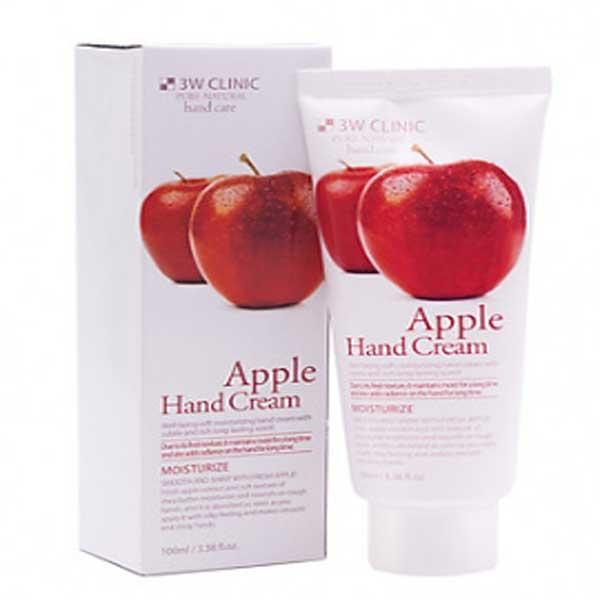 Kem-duong-da-tay-chiet-xuat-Tao-Han-Quoc-cao-cap-3W-Clinic-Apple-Hand-Cream-100ml-Hang-chinh-hang