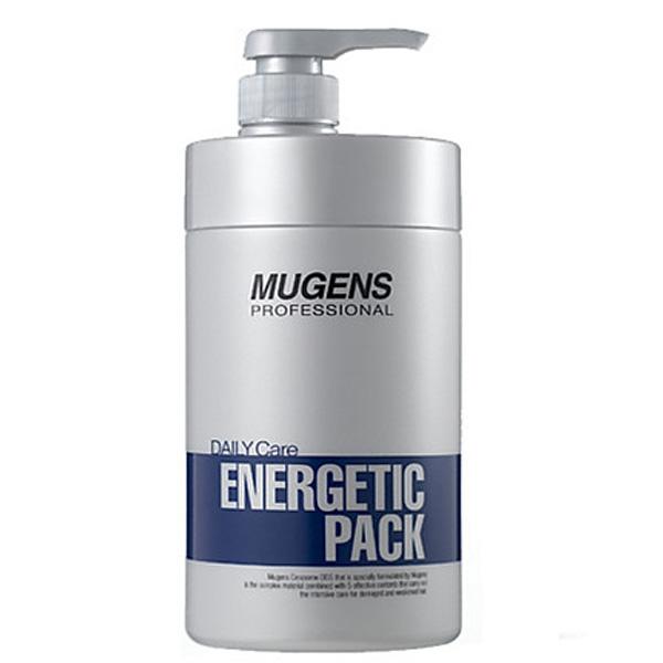 Hấp dầu thảo dược Mugens Phục hồi tóc hư chuyên sâu Mugen Energetic 1000ml