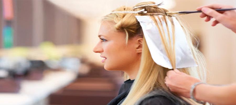 Mức độ biến đổi màu tóc khi tẩy